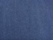 Stretchjeansstoff uni, indigoblau