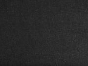 RESTSTÜCK 63 cm Stretchjeansstoff uni, schwarz