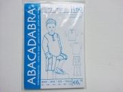 160 Kinder Shirt & Hose, Schnittmuster Abacadabra