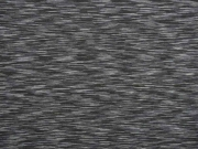 Funktionsjersey gestrichelt, grau schwarz