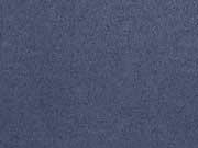 RESTSTÜCK 1,35m elastisches Wildleder Imitat -jeansblau