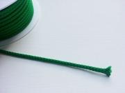 Kordelband 5mm - grass grün