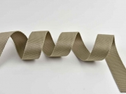 Gurtband 3 cm Polypropylen, taupe