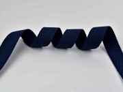 Gurtband Baumwolle 3 cm, dunkelblau