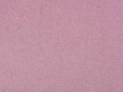 butterweicher Cotton Fleece, altrosa meliert