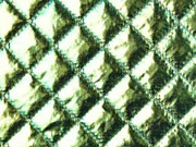 Steppstoff wattiert Jackenstoff, metallic grün
