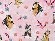 Jersey Pferde Spirit Riding Free Horses, rosa