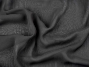 Chiffon Stoff, schwarz