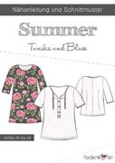 Schnittmuster Summer Tunika Damenbluse Fadenkäfer