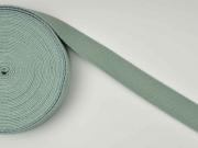 Gurtband Baumwolle 3 cm, altmint