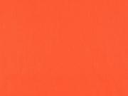 Baumwollstoff uni, orangerot