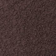 Boucle Stoff Schafslöckchen elastisch, dunkelbraun