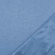 Alpenfleece Sweatstoff uni, jeansblau