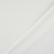 Alpenfleece Sweatstoff uni, cremeweiß