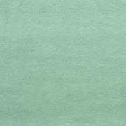 Baumwollfleece Stoff uni, dunkles altmint