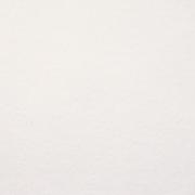 Baumwollfleece Stoff uni, cremeweiß