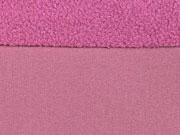 RESTSTÜCK 96 cm Softshell Stoff, dunkles altrosa