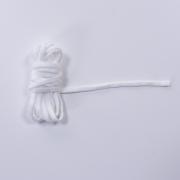 Gummiband Gummilitze 5 mm weich Latexfrei, weiß