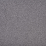 Baumwollfleece Stoff uni, dunkelgrau