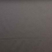 Futterstoff feine diagonale Streifen, dunkelbraun