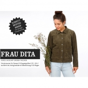 Papierschnittmuster Jacke Damen FRAU DITA Schnittreif
