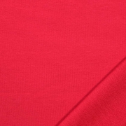 Sweatstoff French Terry uni, rot