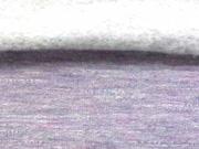RESTSTPCK 1,18 m Sweatstoff angeraut meliert, flieder