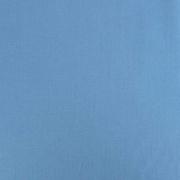 Baumwollstoff uni, rauchblau