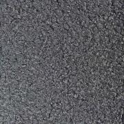 Boucle Stoff Lammfell Optik, dunkelgrau