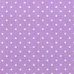 Baumwollstoff kleine Punkte beschichtet Petite Dots, weiß flieder