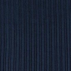 Strickstoff Rippen längs Meterware, dunkelblau