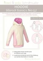 Lillesol Basics No.52 Hoodie Schnittmuster