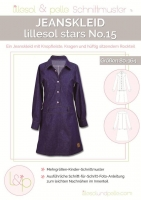 Lillesol Stars No. 15 Jeanskleid Schnittmuster