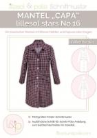 Lillesol Stars No. 16 Mantel Capa Schnittmuster
