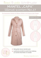 Lillesol Woman No. 27 Mantel Capa Schnittmuster