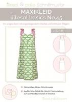 Lillesol Basics No.45 Maxikleid Schnittmuster
