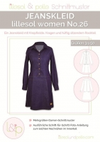 Lillesol Woman No.26 Jeanskleid Schnittmuster