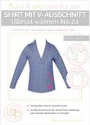 Lillesol Woman No24 Shirt V-Ausschnitt Schnitt