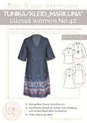 Papierschnittmuster Tunika Kleid Mariluna Lillesol women No.42