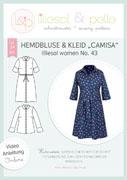 Papierschnittmuster Hemdbluse & Kleid Camisa Lillesol women No.43