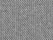 RESTSTÜCK 42 cm Dekostoff Jacquard Drizzle, schwarz