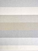 Dekostoff Blockstreifen, cremeweiß beige hellgrau