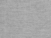 RESTSTÜCK 35 cm Dralon Teflon Outdoorstoff Uni, grau meliert