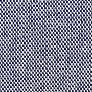 Dekostoff Kästchenmuster meliert, dunkelblau cremeweiß