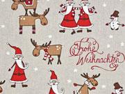 Leinenlook Frohe Weihnachten