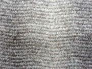 RESTSTÜCK 40 cm Pelzimitat Schneelux, grau meliert