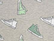 Jersey Turnschuhe Sneaker Stenzo, mint grau