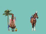 Jersey Panel Pferd Aloha Stenzo, mint