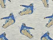 Sweat Snowboarder Stenzo , hellgrau melange