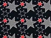 Bio-Jersey Stenzo Sterne, schwarz